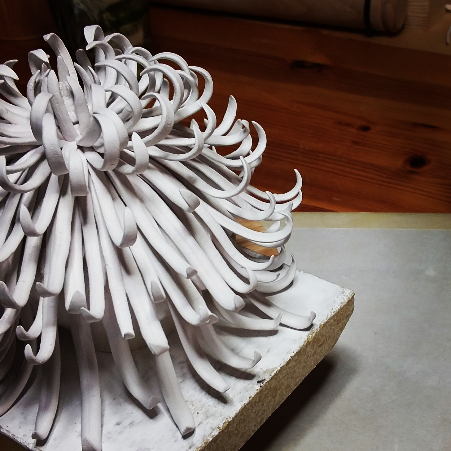 Porcelain chrysanthemum