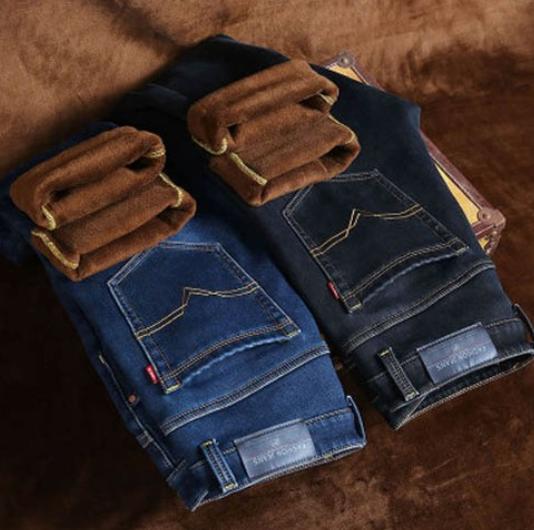 Fleece Lined Pants Korea
