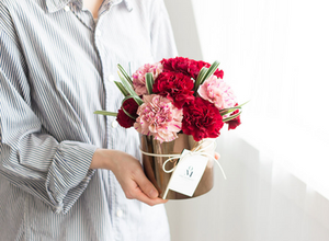 carnations for parents day Korea