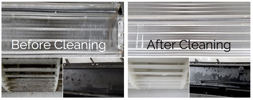 Clean AC Unit in Korea, Air conditioner cleaner