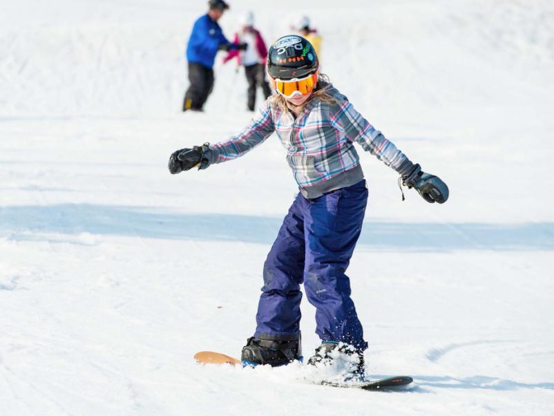 Korea Lift Tickets Person Snowboarding