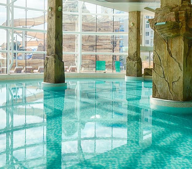 indoor pool resort in korea