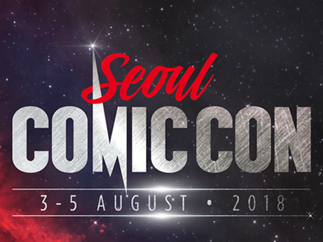 Comic Con Seoul 2018 Tickets on Sale Now!