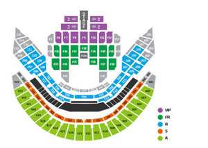 Sam Smith Seoul Concert Seating Chart