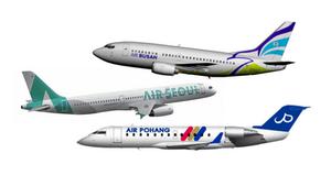 Cheap flight in Korea, air Busan, air Seoul, Air Pohang