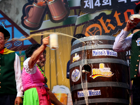 Oktoberfest: Where to find Real German Beer, Sausages and Yodeling in Korea