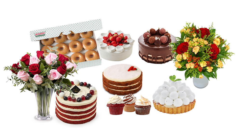 Cake, gift, flower delivery in Korea