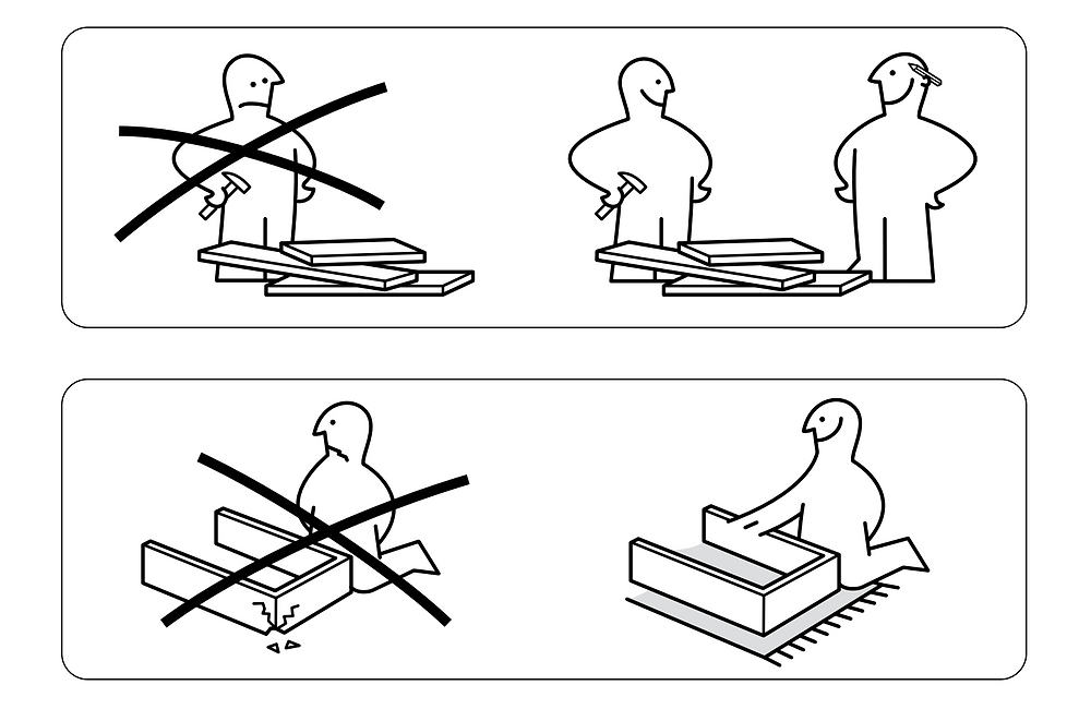 Ikea assembly guidelines