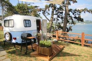 caravan camping in korea