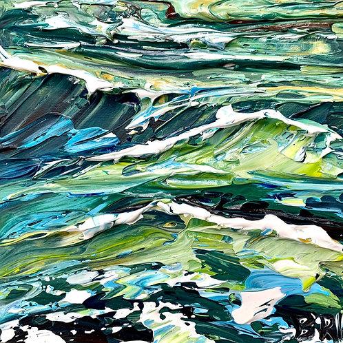 chartreuse sea