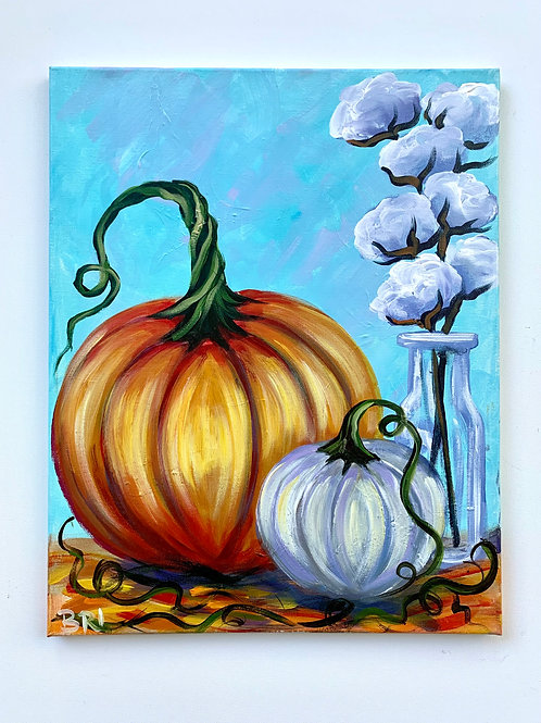 Pumpkins + Cotton 1