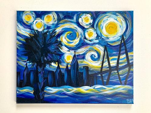 Starry Night Over Charleston