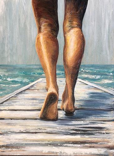 Salt Boardwalk PRINT