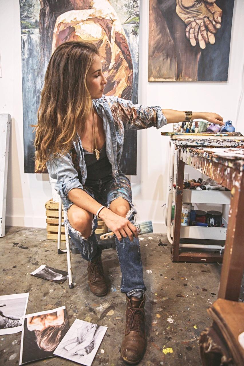 studio shot by Kat Gorbanov