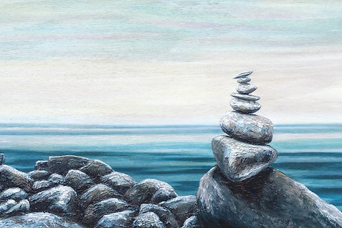 Serene Salt Tower PRINT