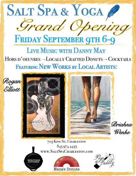 """Salt Series"" at the Grand Opening 9/9/16"