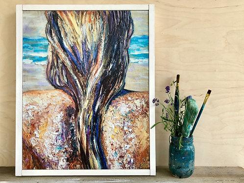 """Beach Salt 16x20"""" GICLEE"""