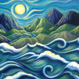 Mountains Meet the Sea
