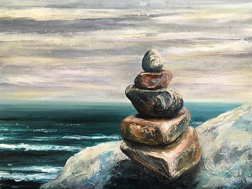 Cliffside Salt Tower PRINT