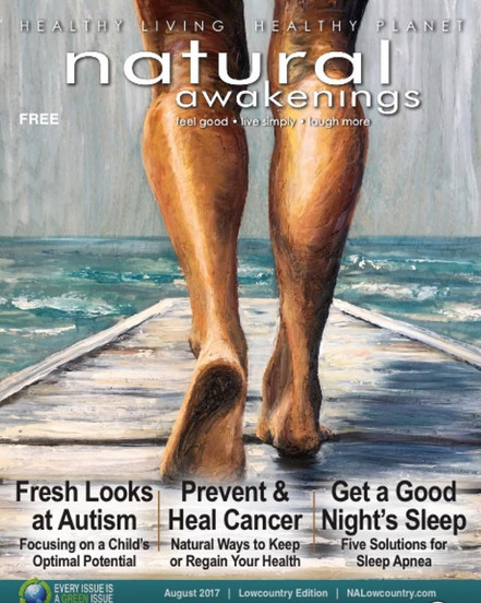 Published Cover! Natural Awakenings Mag