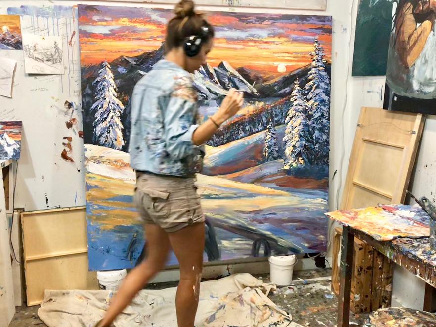 art studio flow