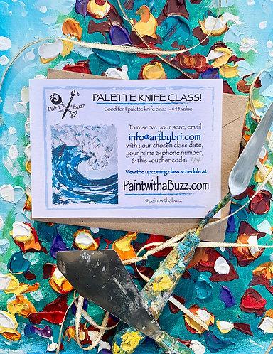 Palette Knife Gift for One
