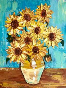 Van Goghs Sunflowers