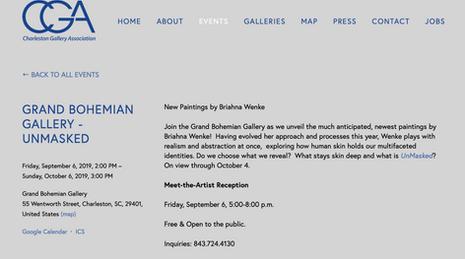 CGA Charleston Grand Bohemian Gallery
