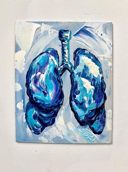 Breathe Easy Blue