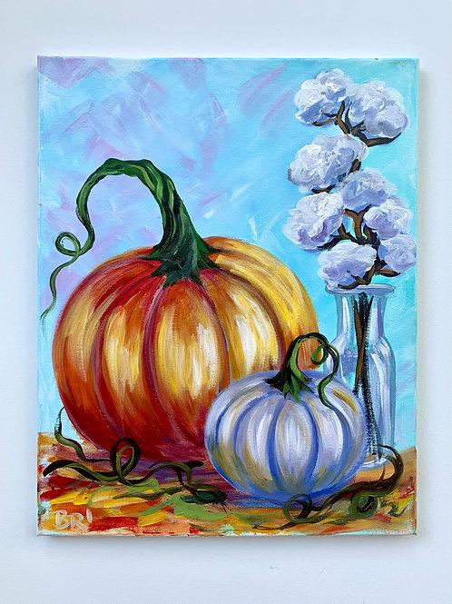 Pumpkins + Cotton 2