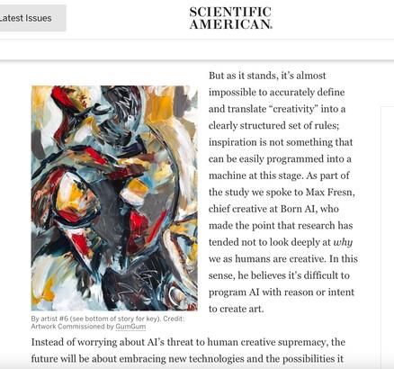 Scientific Journal Art.ificial AI v. Human