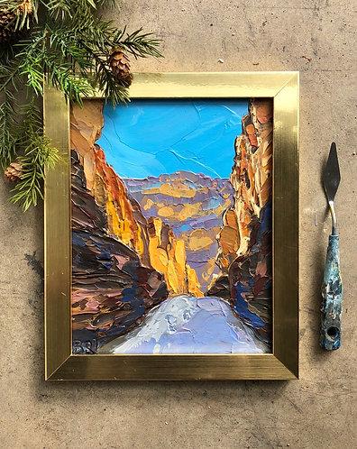 "Golden Canyon, 8x10"""
