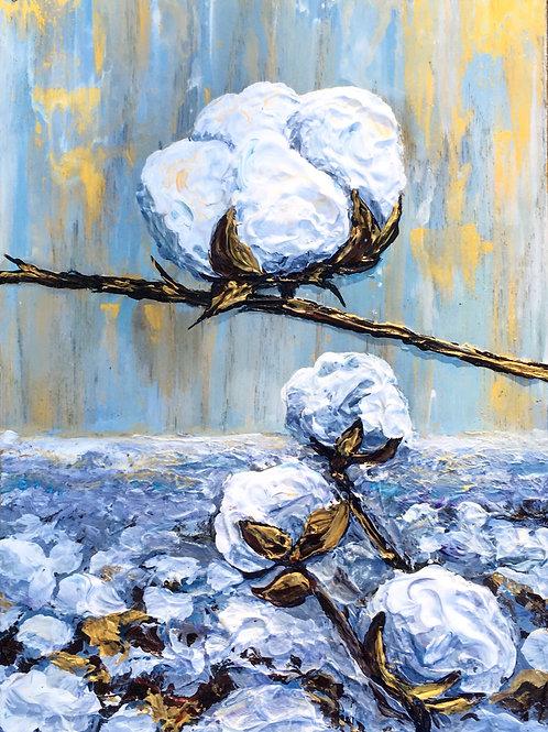 Lilac Cottonfield