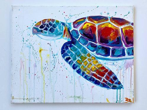 Glorious Sea Turtle