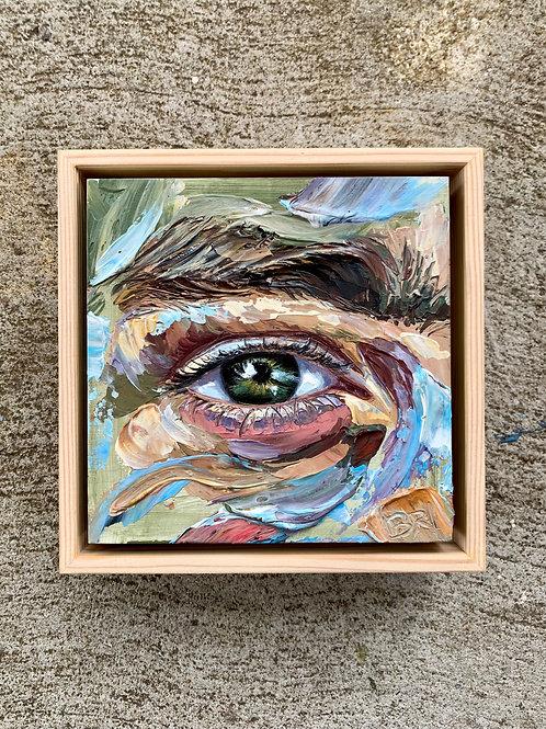 custom eye painting