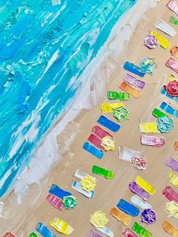 Palette Knife: Beach Day
