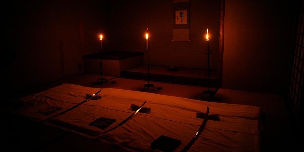 「刀剣を蝋燭の灯りの元で鑑賞する会」