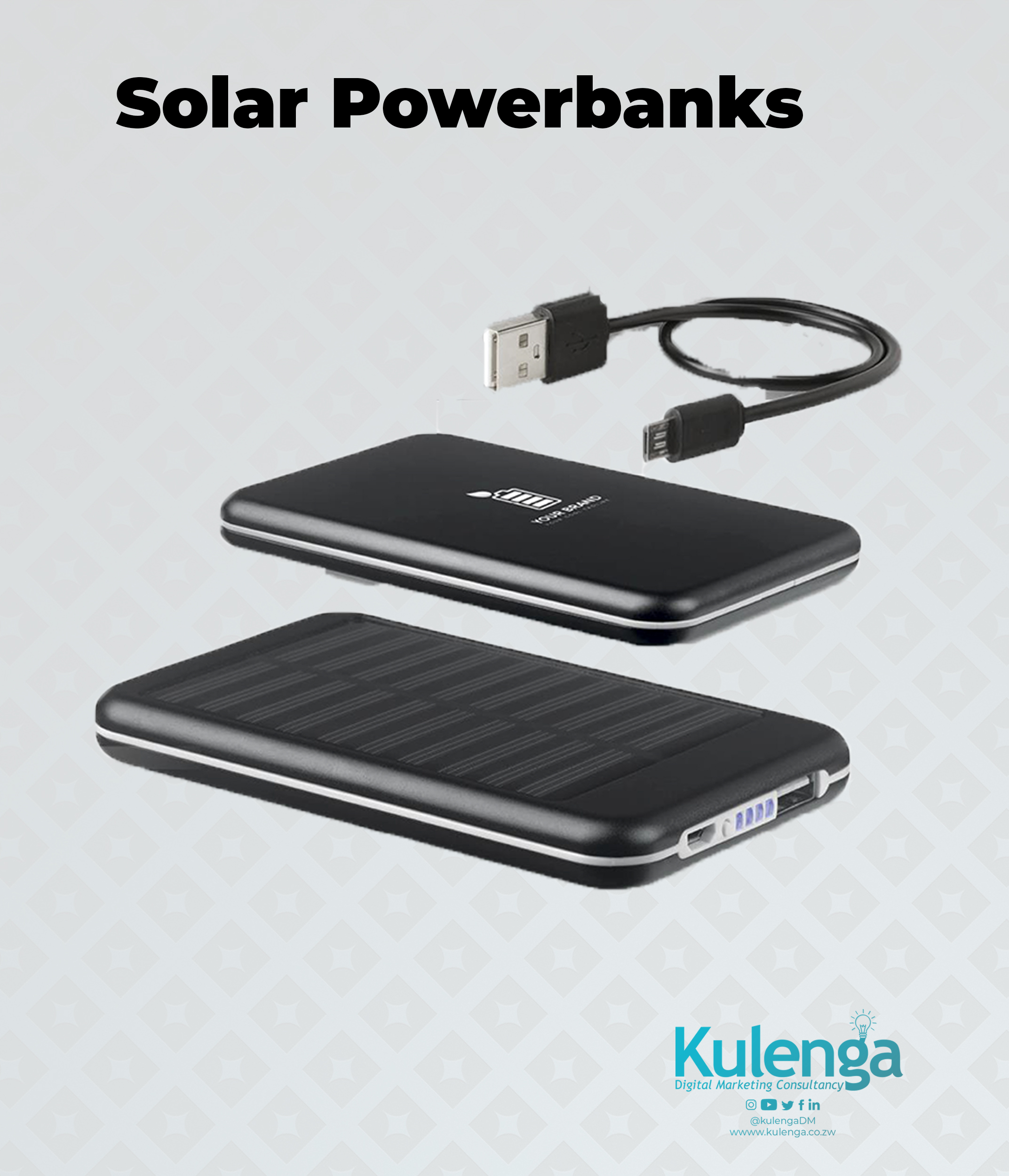 Powerbanks solar