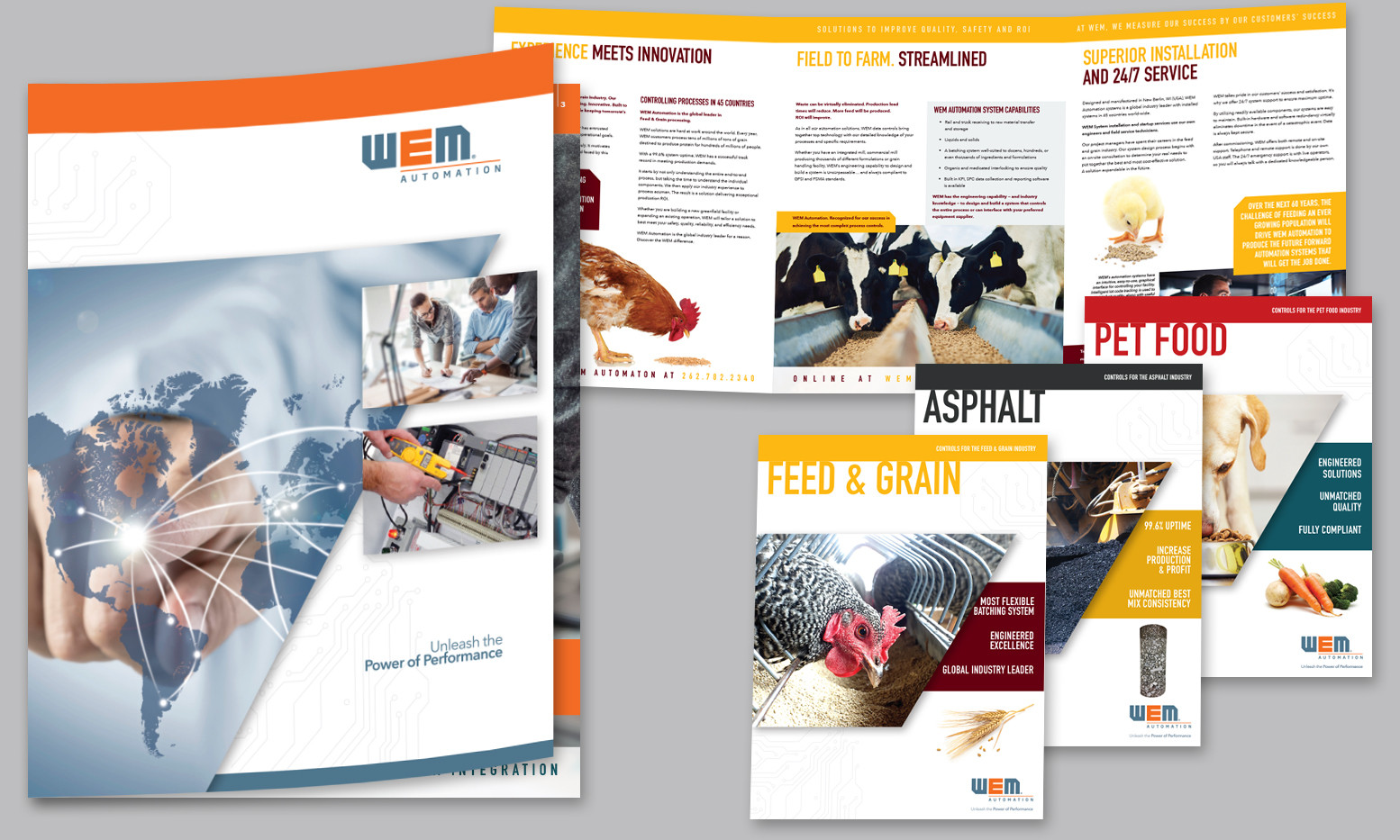 WEM AUTOMATION CORPORATE AND PRODUCT BROCHURES