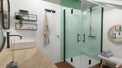 Projet Salle d'eau verte