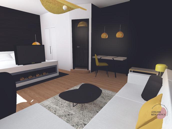 Chambre hôtel Suite Junior 5*