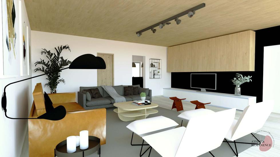 Salon Moderne Conteporain