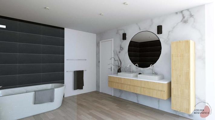 Salle de bain Moderne Contemporain