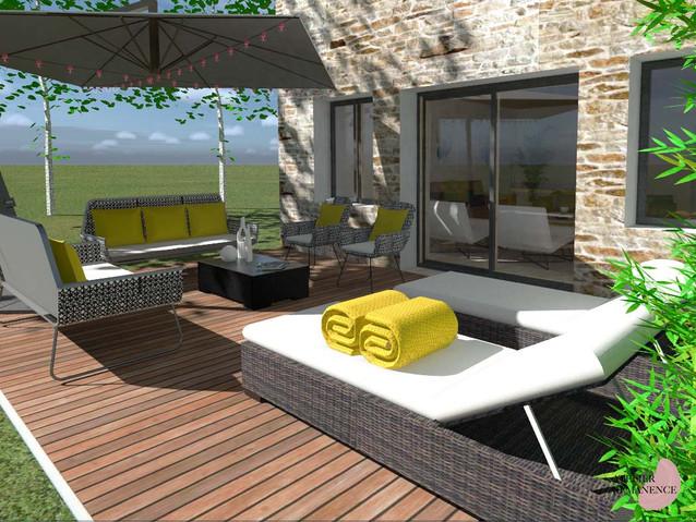 Terrasse Moderne Contemporain
