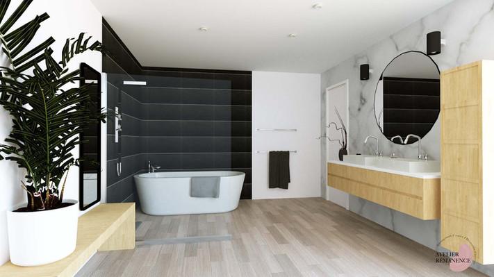 alle de bain Moderne Contemporain