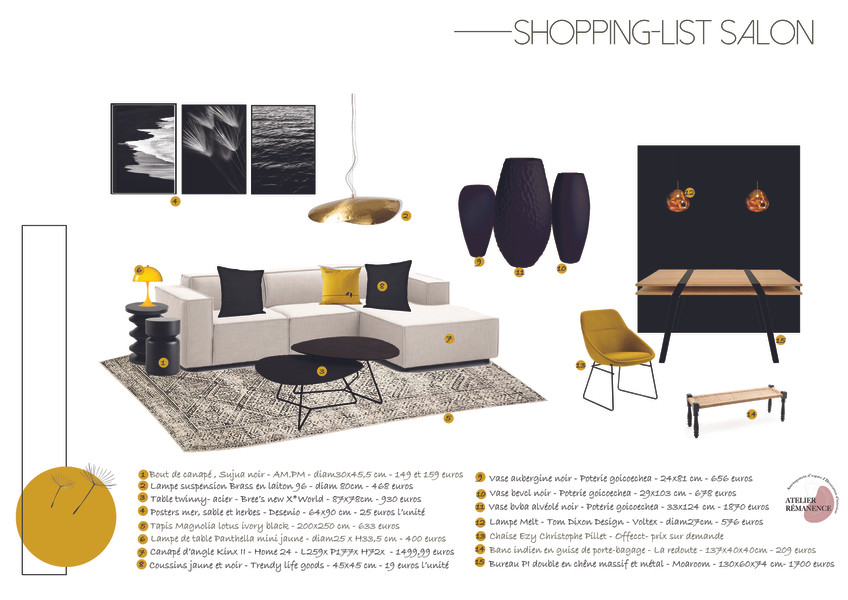 Shopping-List Moderne Contemporain