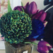 Very lucky girl - dinner at _hunkydoryfish Eastland followed by flowers from _littleflowerbox my hus
