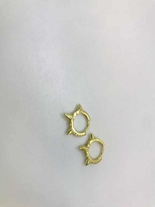 Petits anneaux avec picots