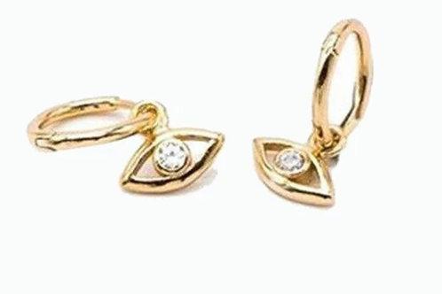 Boucles d'oreilles CHICO dorées