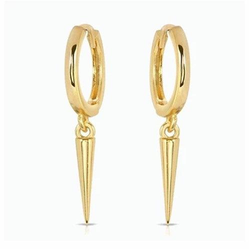 Boucles d'oreilles MAY dorées